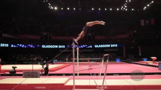 ELZEINY Sherine (EGY) - 2015 Artistic Worlds - Qualifications Uneven Bars