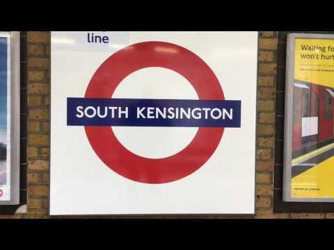 London Underground, London, England - May & June, 2016