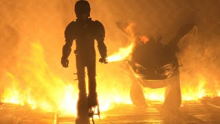 Toothless and Hiccup Walk Through Fire Scene - HOW TO TRAIN YOUR DRAGON 3 (2019) Movie Clip