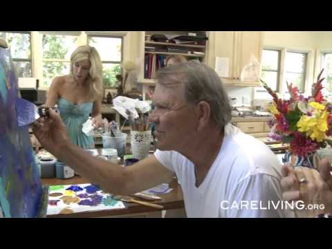 Glen Campbell Paints with Jane Seymour  - The Art Of Glen Campbell
