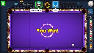 8 Ball Pool Live Game Play Venice 150M 🔴 screenshot 5