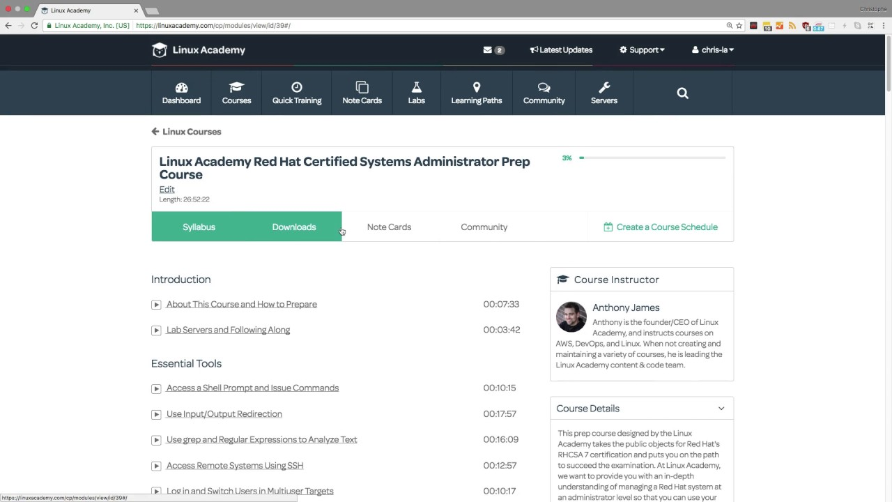 Guide to Linux Academy: Study Tools