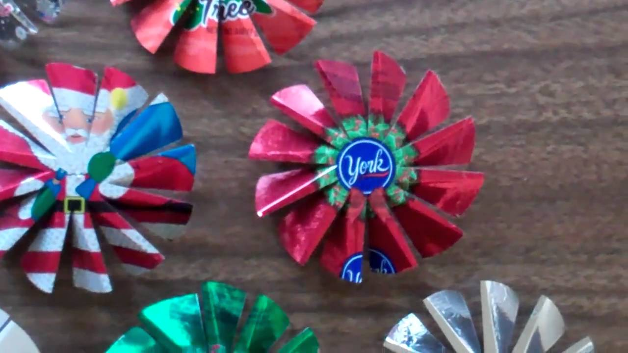 Candy Wrapper Spinners Youtube