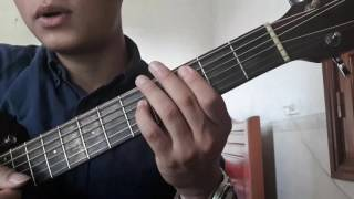 """Guitar hướng dẫn: Intro, đệm hát """"Đông"""" - áp dụng hợp âm 5 - ST: Vũ Cát Tường"""