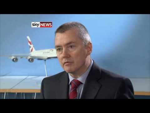 British Airways posts record losses (Willie Walsh Full Interview)