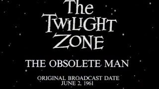 "Bible reading on The Twilight Zone episode ""The Obsolete Man"""