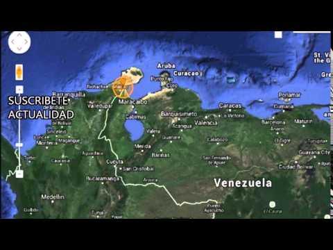 Un terremoto de magnitud 5,6 sacude Venezuela y Colombia.