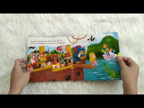 First Stories Peter Pan - Push Pull Slide Board Book
