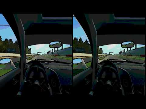 Audi R8 Cockpit Cam Race For Vr Headset , Real Racing 3.