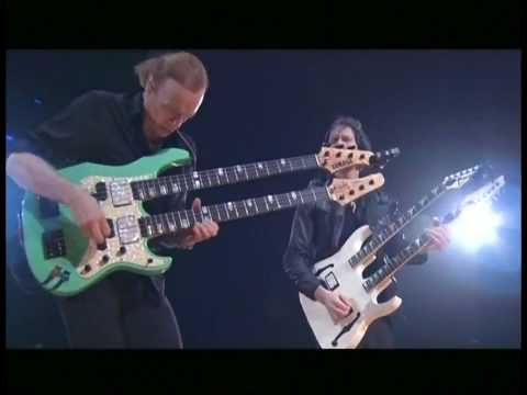 Paul Gilbert & Billy Sheenan HD - live at Budokan 2009