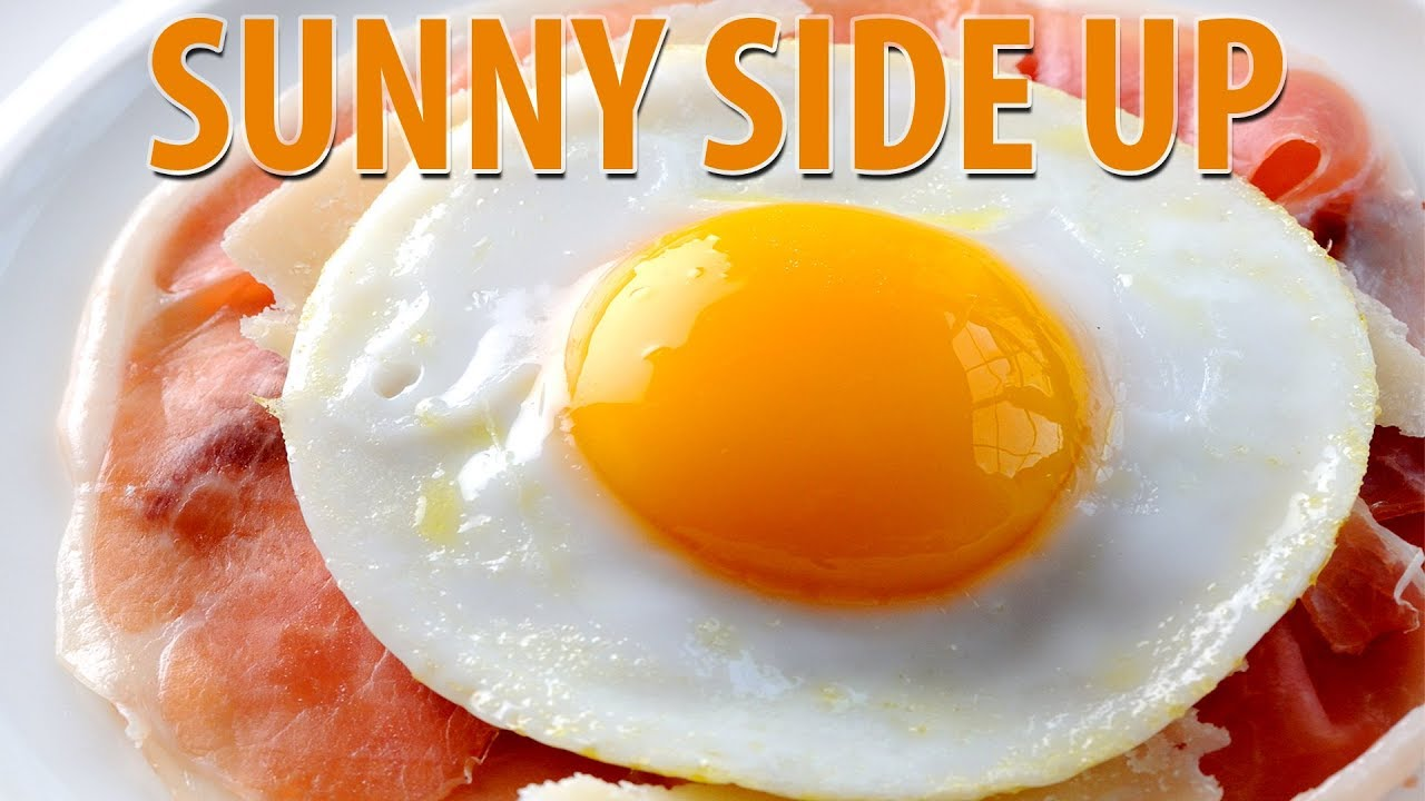 how to make sunny side up eggs youtube