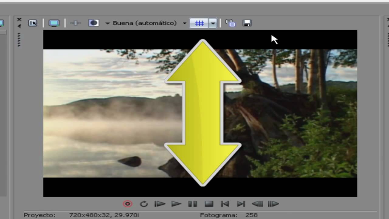 Quitar lineas horizontales y verticales fondo negro en videos o imagenes en sony vegas youtube - Como quitar las humedades de la pared ...