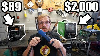 $89 vs $2,000 Welder. Is There Really A Difference?