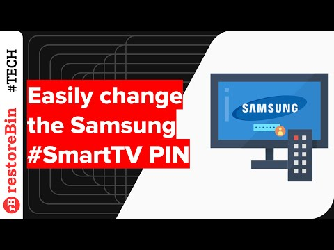 How to change Samsung Smart TV User PIN code?