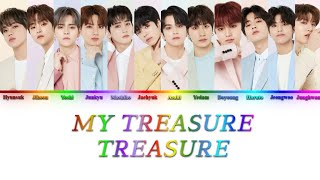 Download TREASURE (トレジャー) - MY TREASURE -Japanese Ver.- {Color Coded Lyrics}