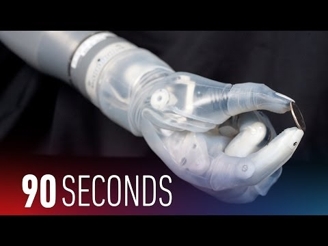 This mind-controlled arm is the future of prosthetics: 90 Seconds on The Verge