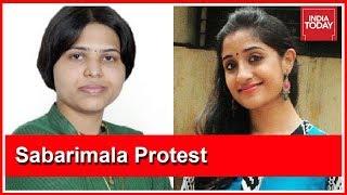 Deepa Easwar Calls Trupti Desai A Non Devotee, Trupti Says She Will Enter Sabarimala
