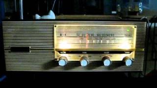 NEC NT-8035 ゲルマトランジスタ8石スーパーラジオ。 緑色同調指示LED...
