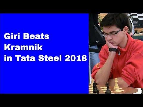 Giri Beats Kramnik - Tata Steel 2018