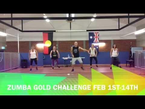 Zumba Gold Challenge - February 1st to February 14th 2015