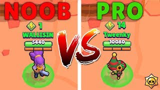 BRAWL STARS: NOOB vs PRO (part 1)