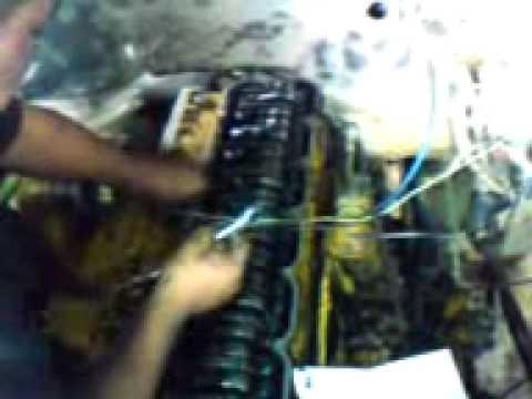 calibracion motor caterpillar 3116