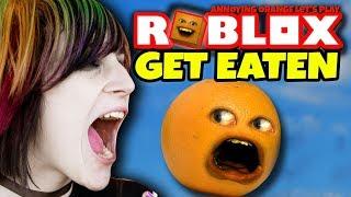 Roblox: GET EATEN! AAGGGHH!!! 🍊💨🌮🍗🍕 [Annoying Orange Plays]