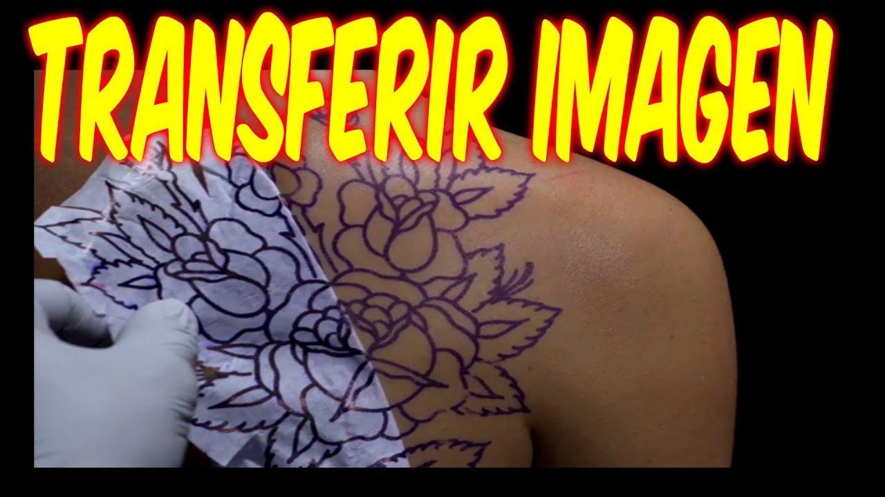 Como Hacer Un Diseño Para Tatuaje como transferir un dibujo de tatuaje a la piel paso a paso en casa / tattoo  / tattoo fort