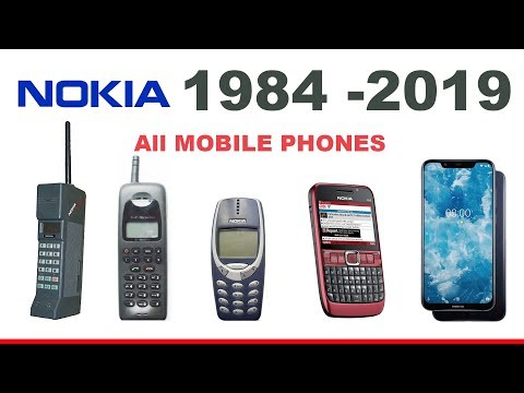 All Nokia Phones (1982 To 2019)
