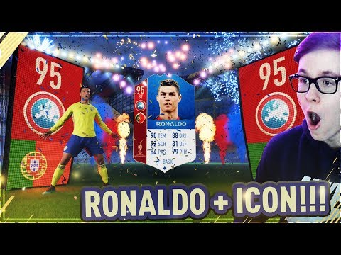 WORLD CUP CRISTIANO RONALDO im STARTER PACK!!😍🇵🇹😱 Fifa 18 WM Modus 😱 Icon Road to Glory #1