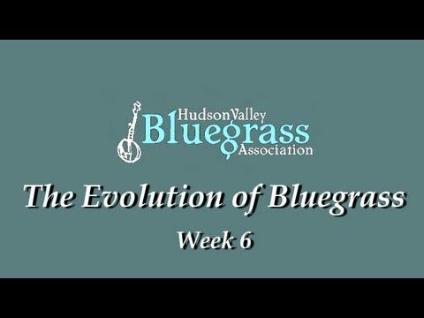 Evolution of Bluegrass 2012 - Week 6
