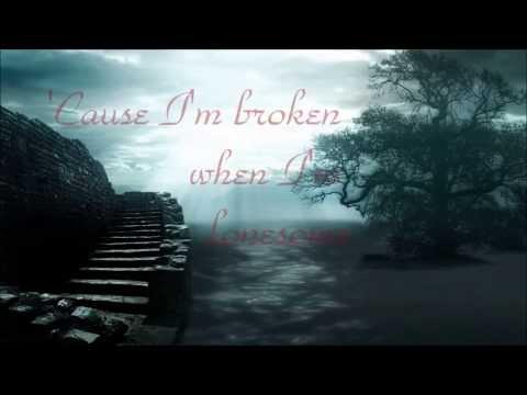 Seether & Amy Lee- Broken Lyrics HD