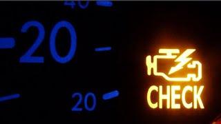 ЗАГОРЕЛАСЬ ЛАМПОЧКА CHECK ENGINE, МОЖНО ЛИ ЕХАТЬ ?