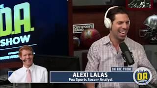 FOX Soccer Analyst Alexi Lalas joins D.A.