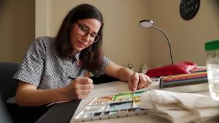 Blick Artists Serving Artists -Beatriz Espinosa with Prismacolor