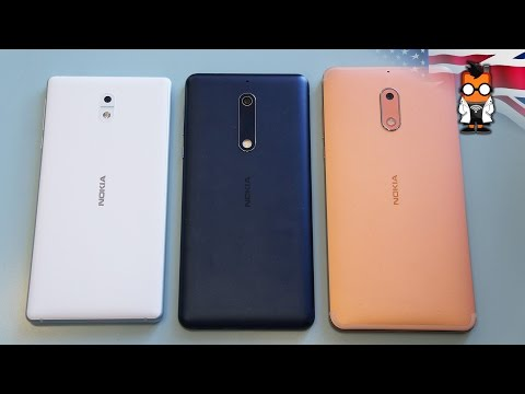 Nokia 3, 5 & 6 Hands on