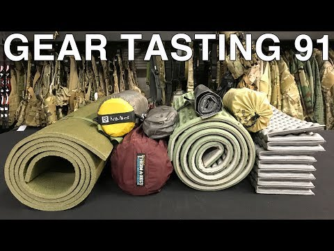 Ground Pads, Carrying Ammo and Long Term Prepping - Gear Tasting 91