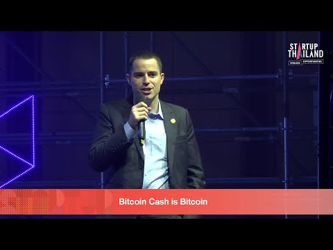 Fire Side Stage Roger Keith Ver,CEO bitcoin.com Startup Thailand 2018 day1