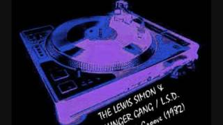 THE LEWIS SIMON & DILLINGER GANG / L.S.D. GANG - New York Groove (special dance mix)