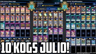 10 DECKS PARA LLEGAR A KOG JULIO 2021! - Yu-Gi-Oh! Duel Links - #ZeroTG