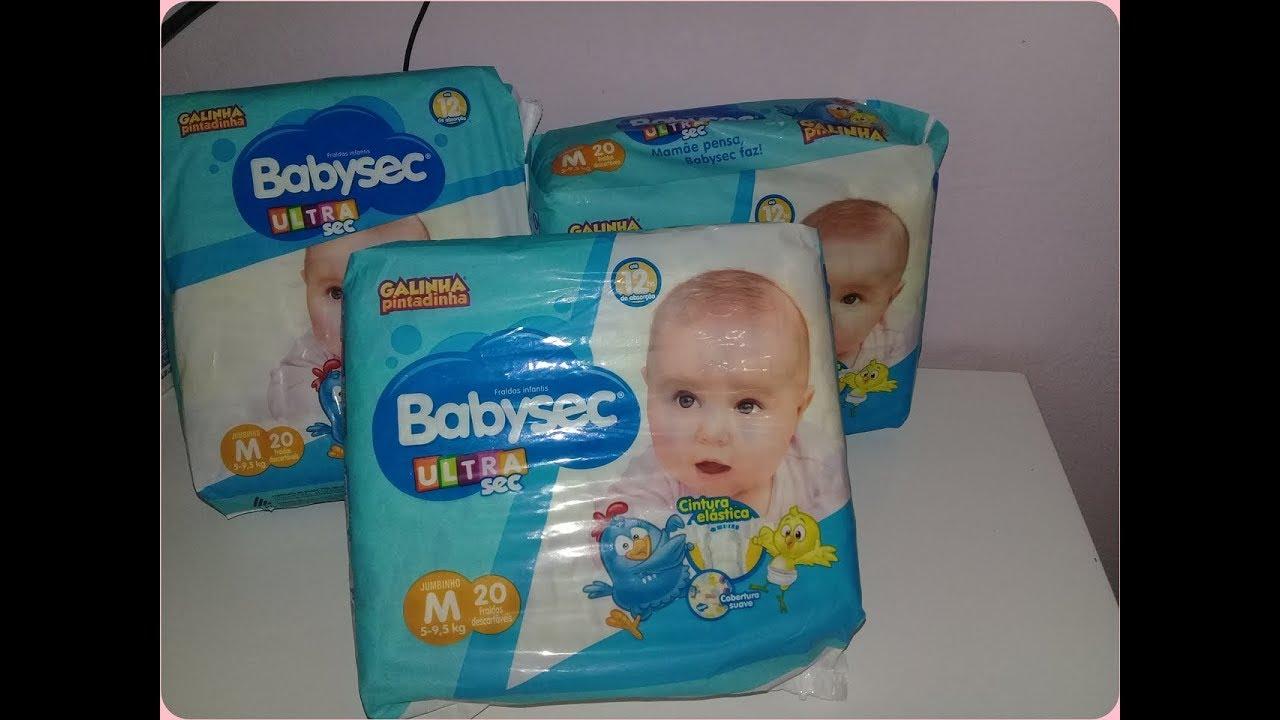 Fraldas baby sec