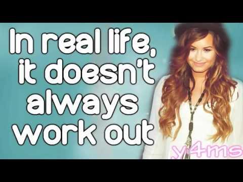 Demi Lovato In Real Life lyrics