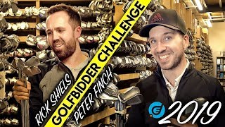 Golfbidder Challenge 2019! Rick Shiels vs Peter Finch £500 to spend!