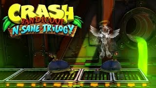 Crash Bandicoot Remastered (N. Sane Trilogy) - N. Sanity Beach & Heavy Machinery Gameplay!