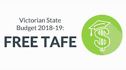 BREAKING: VIC Government Makes TAFE Free for Students