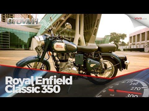 Otak-atik Motor 'Antik' Royal Enfield 350