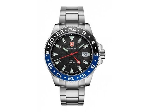 3a5e431e8 Swiss Military GMT Watch Overview - YouTube
