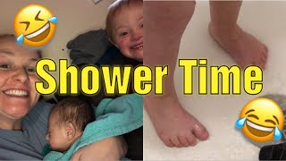 Down Syndrome/ My Son Cracking Up In Shower