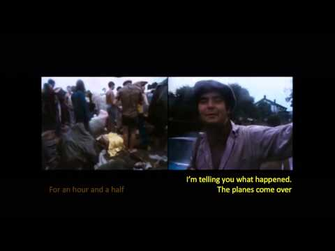 Chemtrails in movies III aka cloud seeding at Woodstock 1969