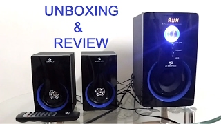 Zebronics SW2490 RUCF 2.1 Multimedia Speakers Unboxing & Full Review
